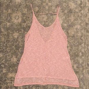 Express one eleven knit tank